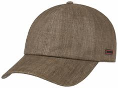 STETSON Baseball cap coated linen
